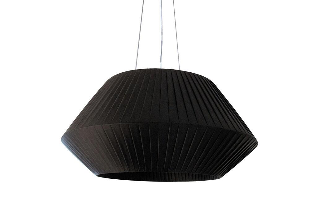 Dix Heures Dix Suspension Luminaire avec Abat-Jour en Ruban Ø 90 cm (Pls Coloris)