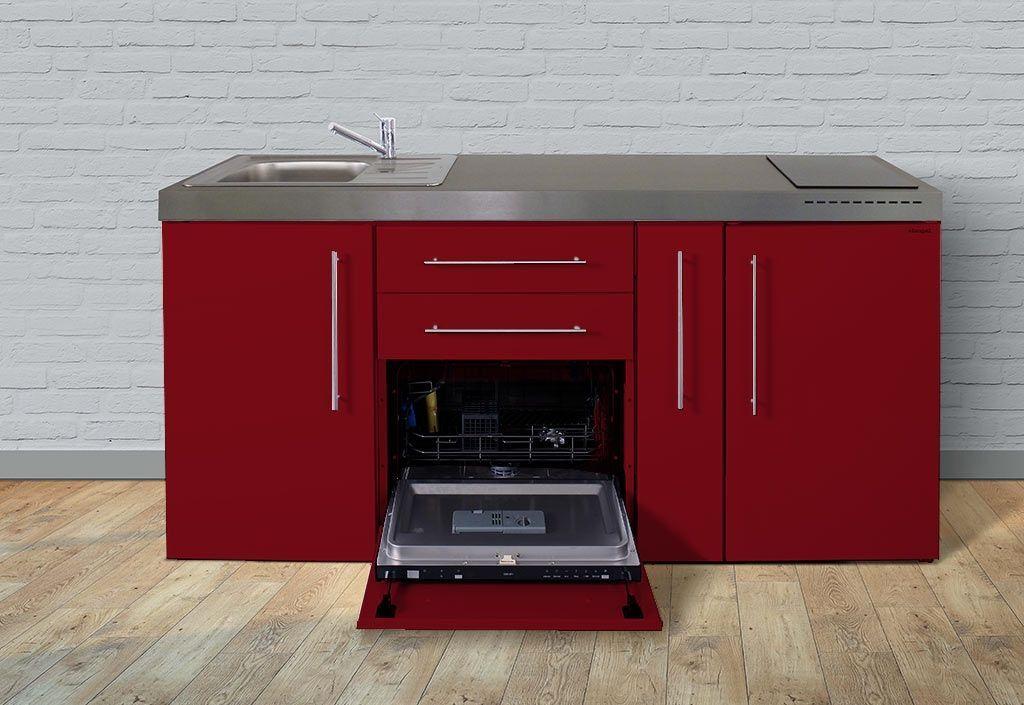 Stengel Mini-Cuisine avec Frigo, L-V, Épicier et Induction MPGS180A (Pls Coloris)
