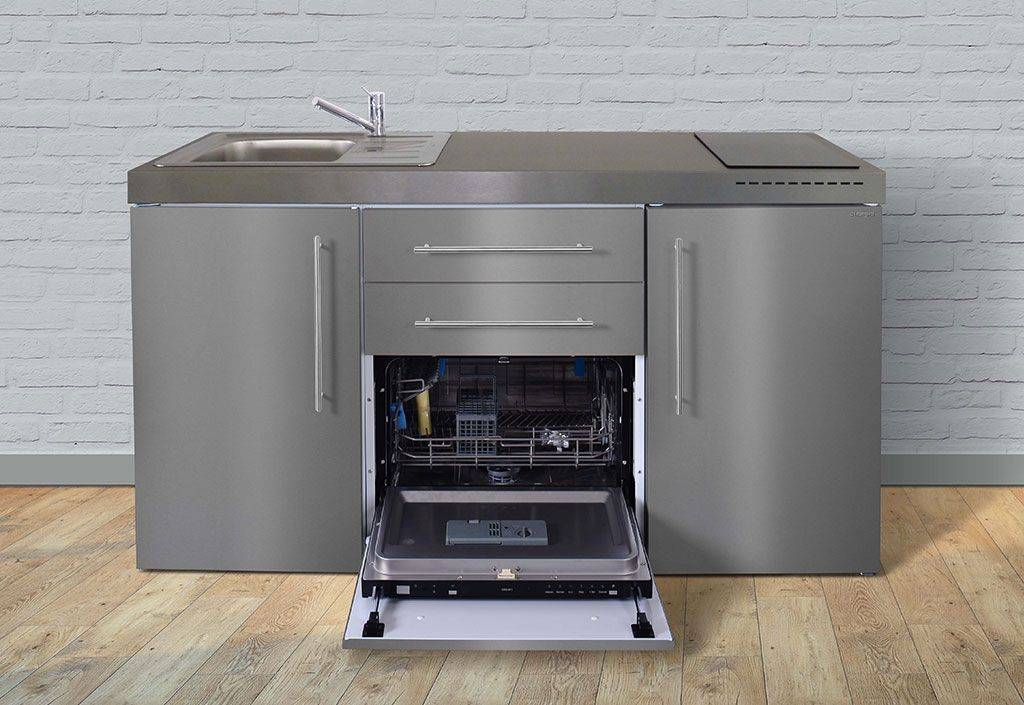 Stengel Mini-Cuisine avec Frigo, Lave-Vaisselle et Induction MPGSES 160