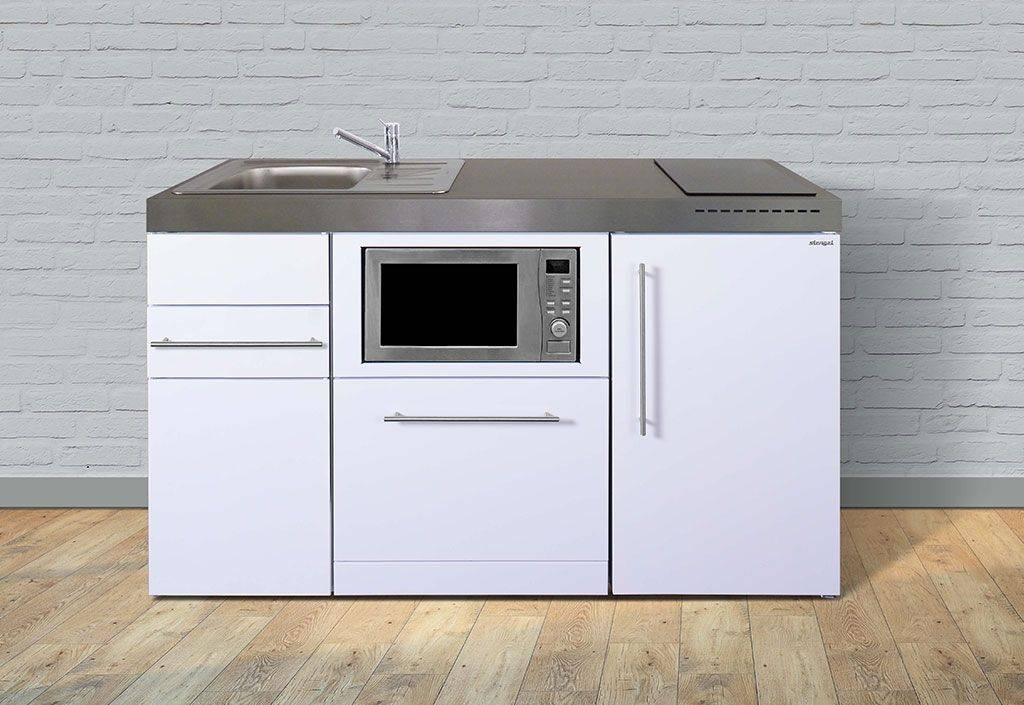 Stengel Kitchenette Frigo, Lave-vaisselle, Micro-ondes, Vitro MPGSM150 Blanche
