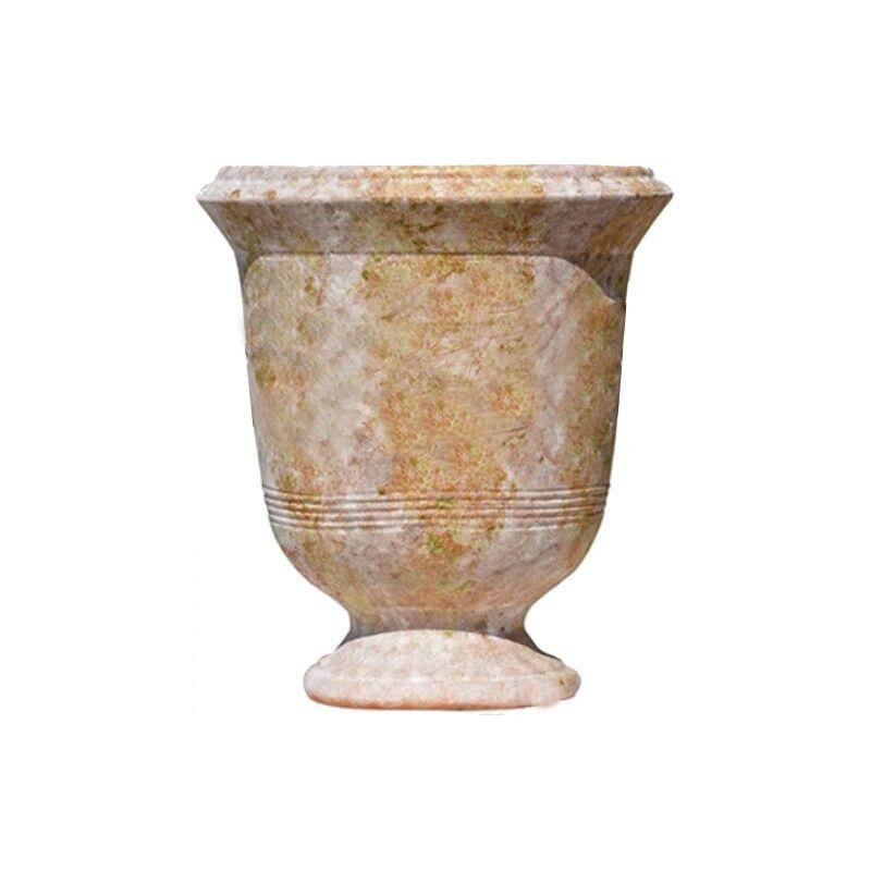Terre Figuière Vase d'Anduze terre cuite Lisse vieille patine Terre Figuière - Taille - Taille 4 : Haut 65 x Diam 55cm