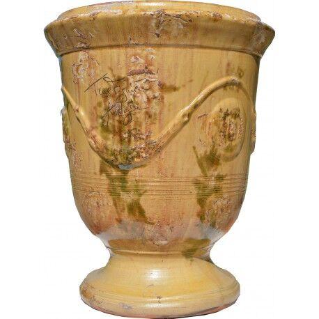 Terre Figuière Vase d'Anduze terre cuite Antique Terre Figuière