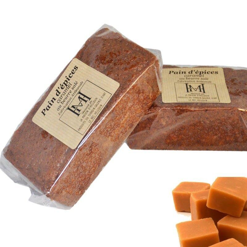 Mon Epicerie Fine de Teroir Pain d'épices au caramel
