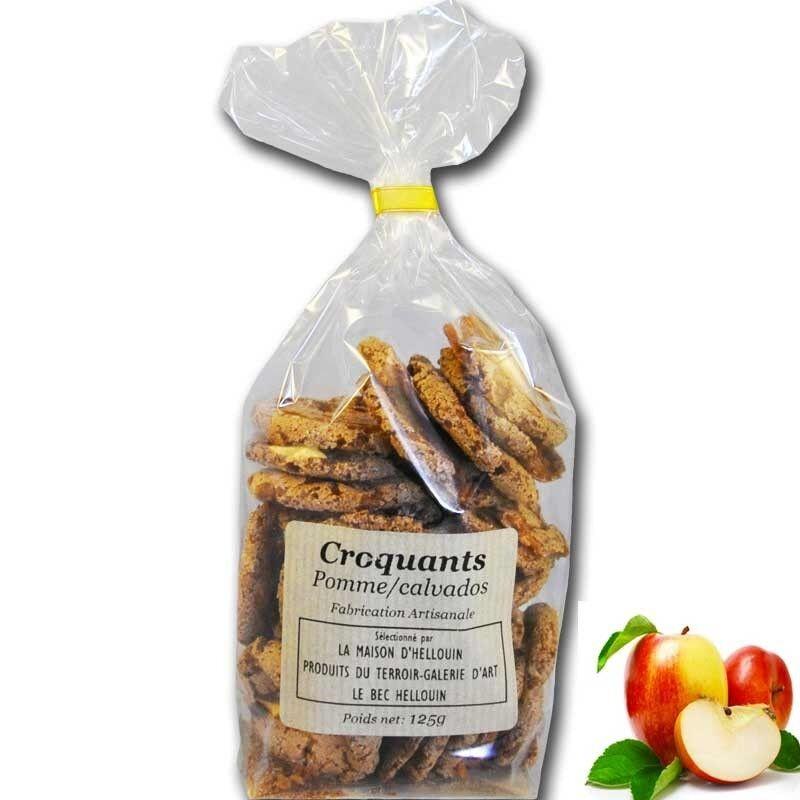 Mon Epicerie Fine de Teroir Croquants Pomme Calvados