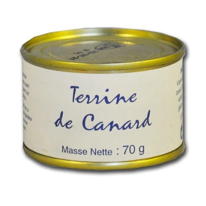 Mon Epicerie Fine de Teroir Terrine de Canard