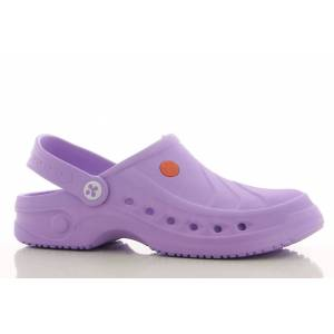 Oxypas Sabot médical Sonic Clogs violet - Publicité