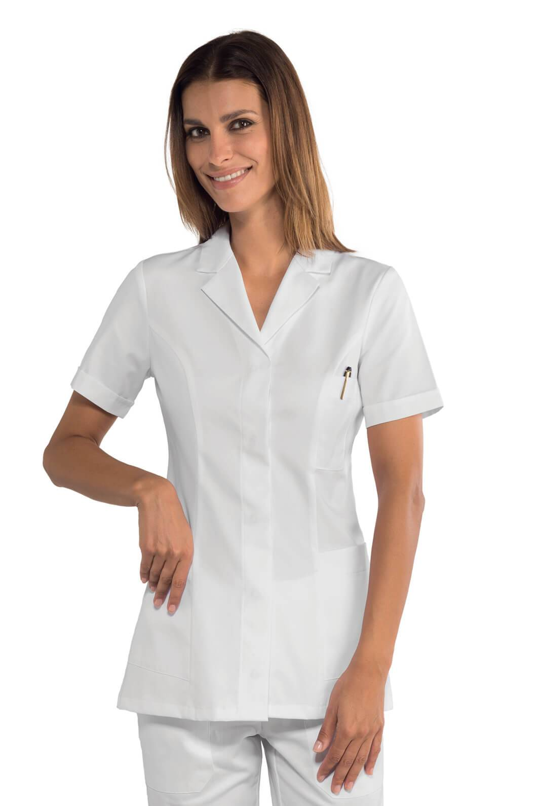 ISACCO Blouse pharmacie manches courtes