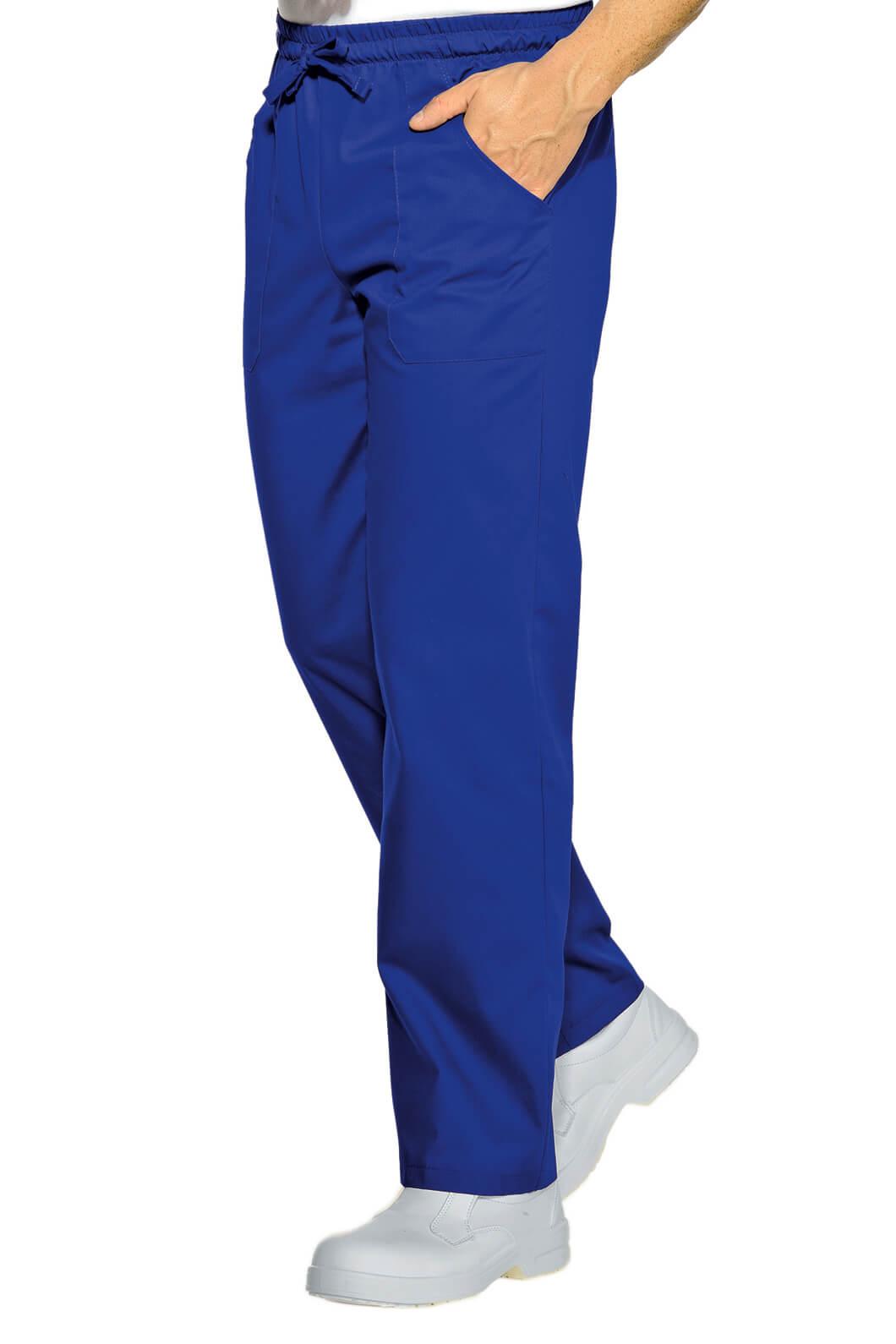 ISACCO Pantalon Cuisinier Bleu Cyan