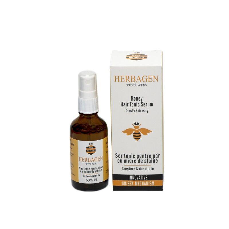 Herbagen sérum capillaire tonique au miel bio 50 ml