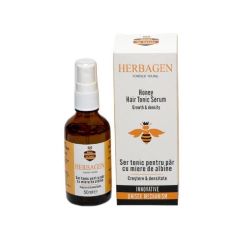 Herbagen sérum capillaire tonique au miel bio 150 ml