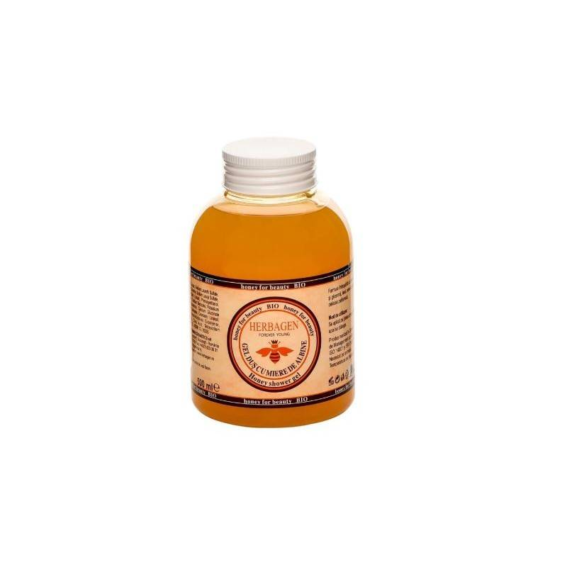 Herbagen gel douche au miel bio 500 ml