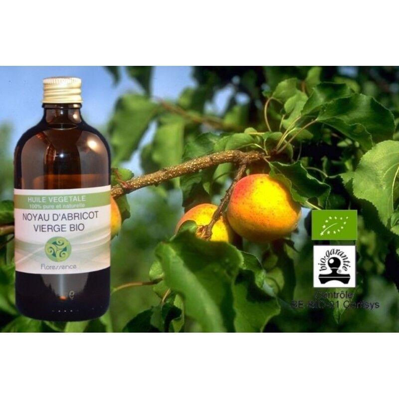 Floressence Synergies Huile végétale d'abricot bio revitalise et rend éclat à la peau 100 ml