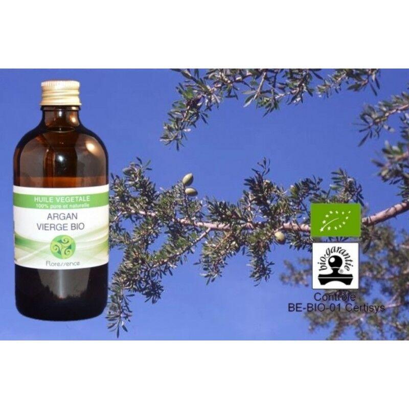 Floressence Synergies Huile végétale d'argan bio régénérante, revitalisante, cicatrisante 100 ml