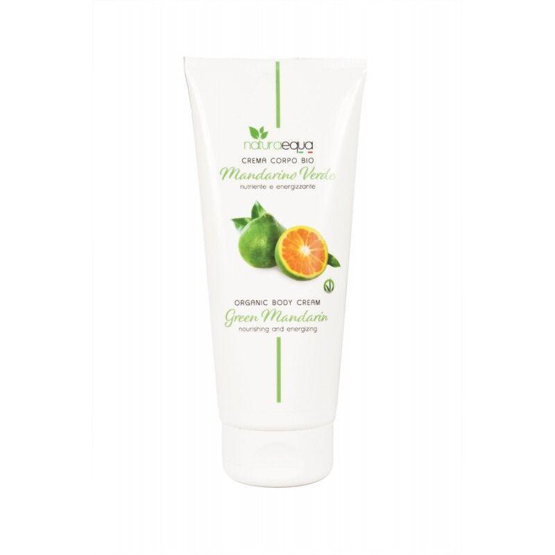Naturaequa Crème corps mandarine verte et ingrédients naturels bio 200 ml