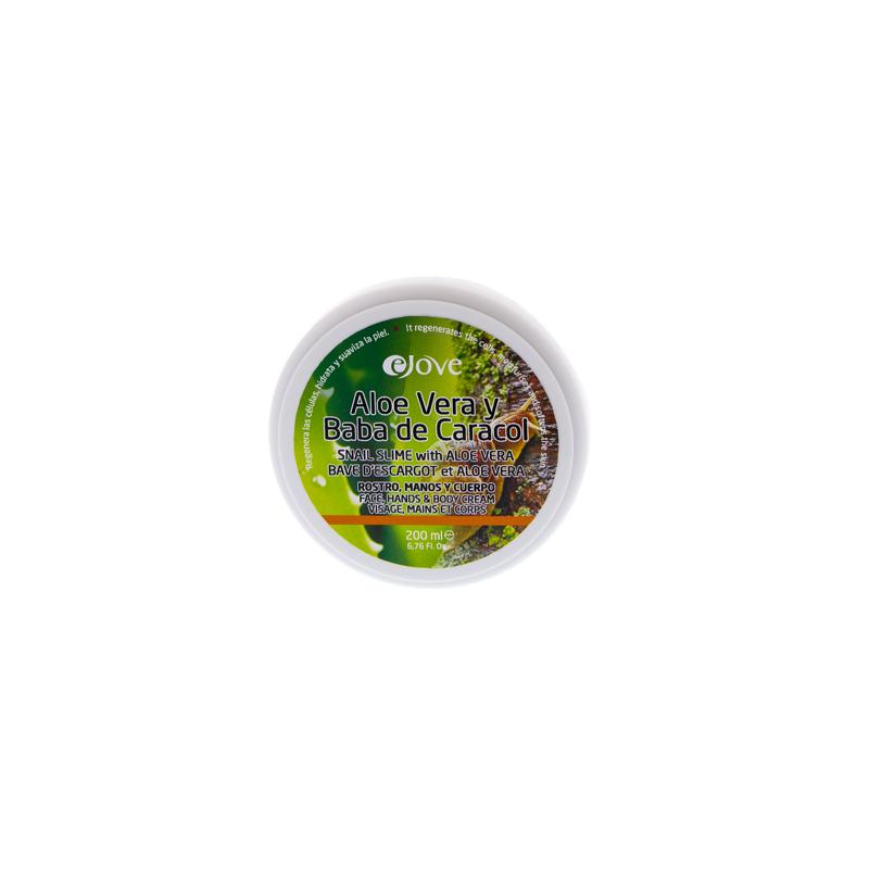 Ejove crème régénérante à la bave d'escargot (baba de caracol) enrichie à l'Aloe Vera 200 ml
