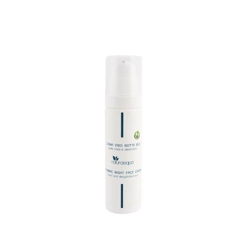 Naturaequa Crème visage de nuit aux ingrédients naturels bio 50 ml