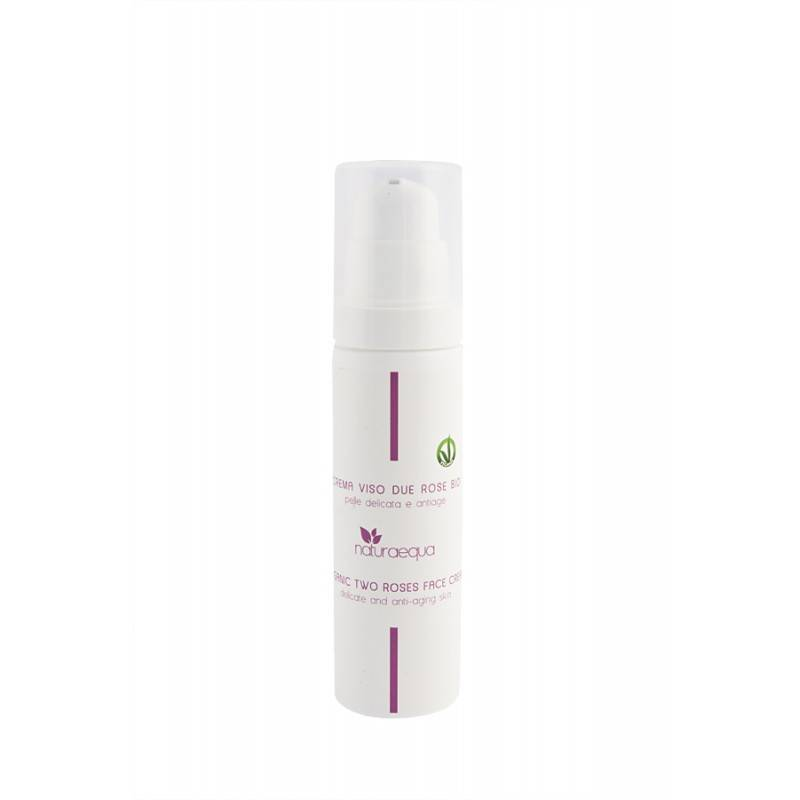Naturaequa Crème visage aux deux roses et acide hyaluronique 50 ml