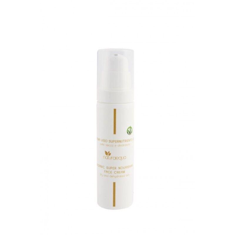 Naturaequa Crème visage très nourrissante à l'huile d'olive vierge, beurre de karité et acide hyaluronique 50 ml
