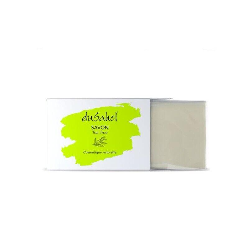 Dusahel savon visage et corps à l'huile essentielle de thé, de coco et d'olive 100 gr