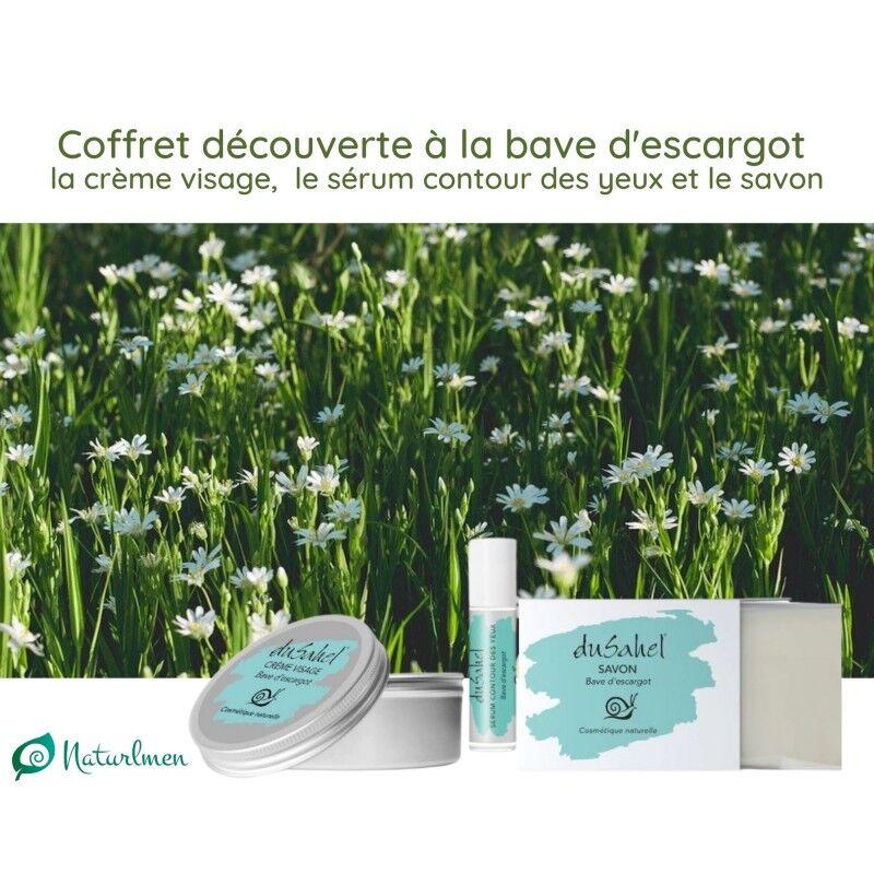 Dusahel Coffret soin découverte à la bave d'escargot et ingrédients naturels