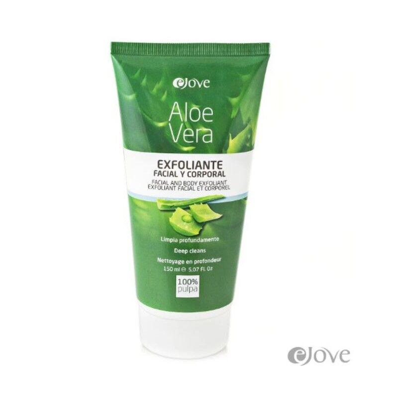 Ejove gommage visage & corps en gel naturel 100% pulpe d'Aloe Vera 150 ml