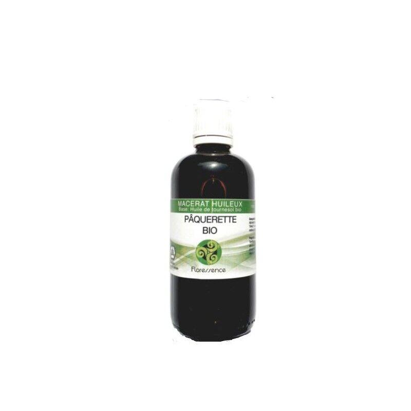 Floressence Synergies Huile végétale de pâquerettes bio effet tenseur unique pour la poitrine 100 ml