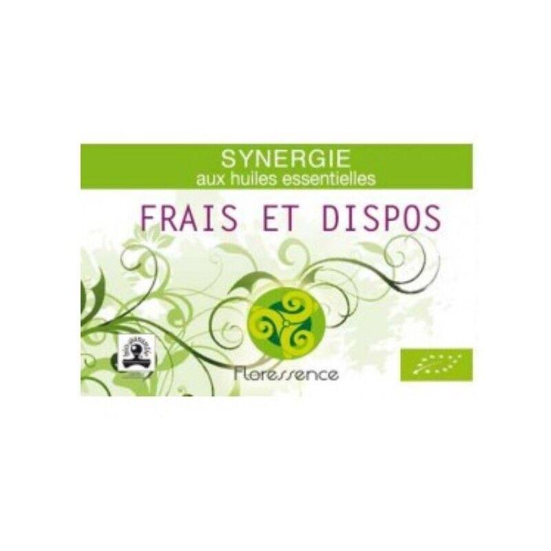 Floressence Synergies Synergie huiles essentielles frais et dispo pour la fatigue physique 100% pure, naturelle et bio