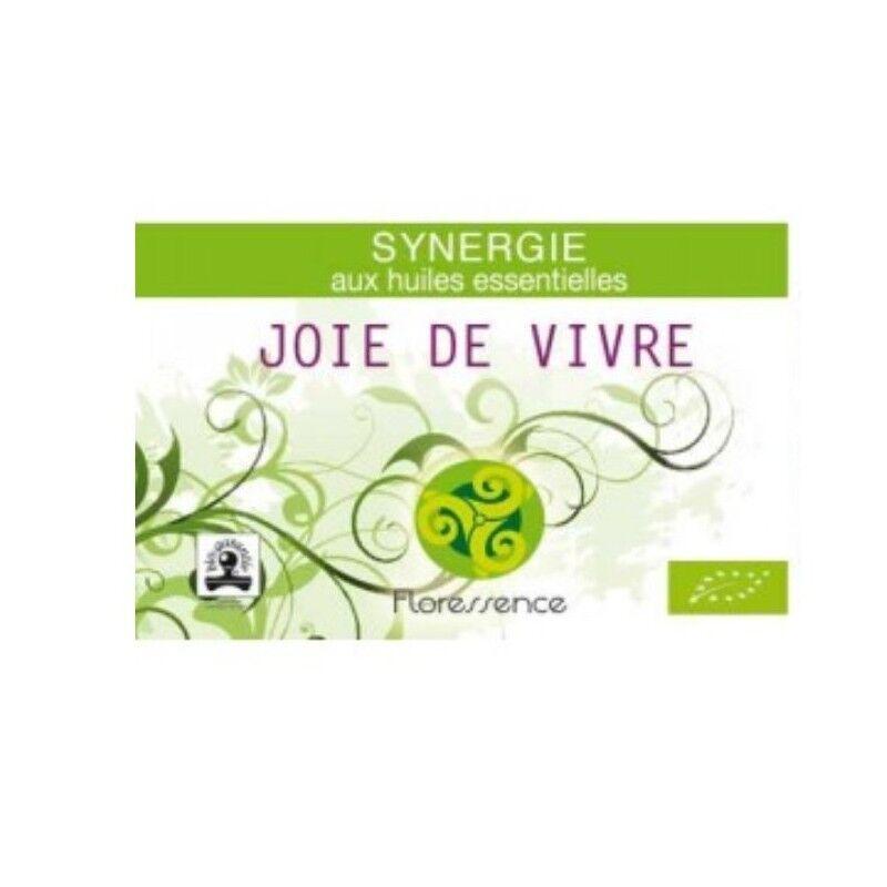 Floressence Synergies Synergie huiles essentielles joie de vivre lutte contre la dépression 100% pure, naturelle, et bio