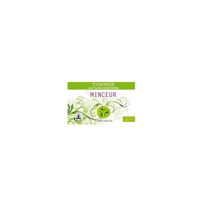 Floressence Synergies Synergie huiles essentielles minceur soutient le régime minceur 100% pure, naturelle et bio