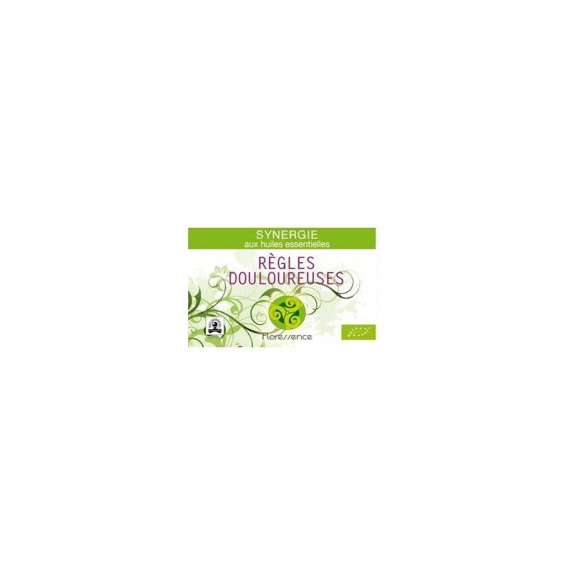 Floressence Synergies Synergie huiles essentielles spasmes Règles douloureuses 100% pure, naturelle et bio