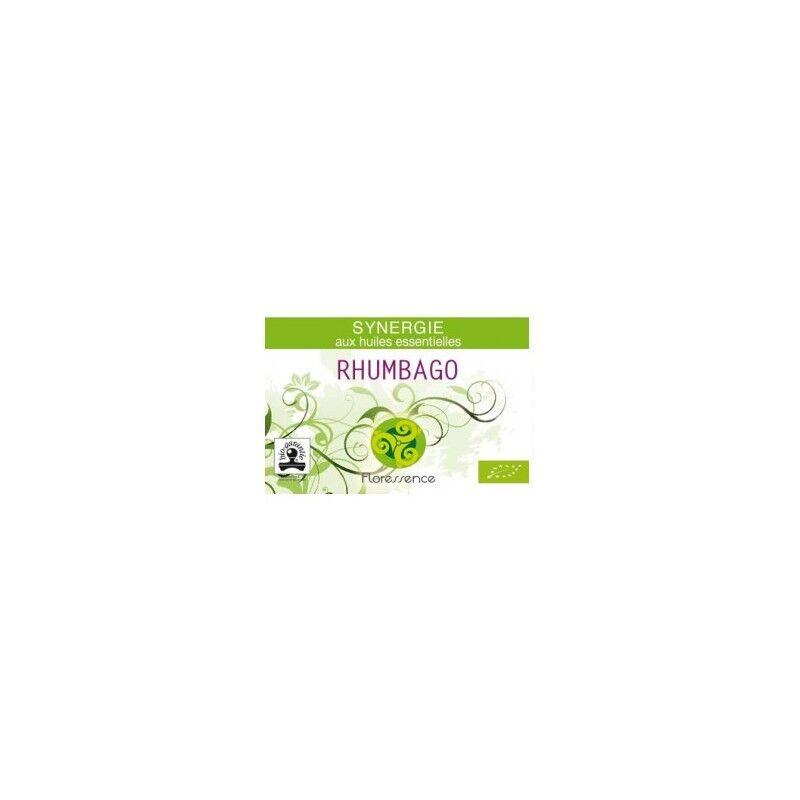 Floressence Synergies Synergie huiles essentielles rhumbago arthrose & rhumatisme 100% pure, naturelle et bio