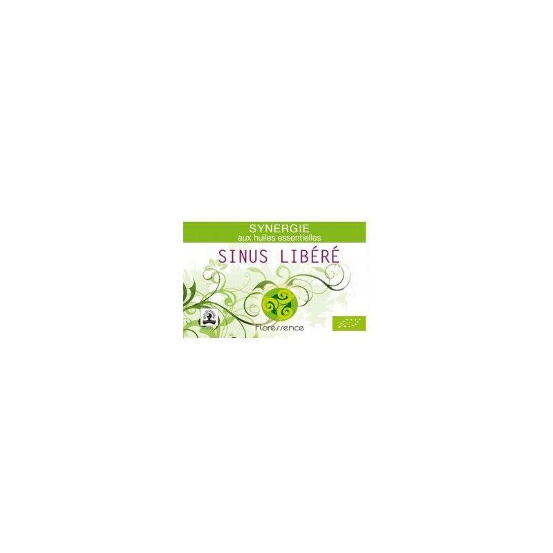 Floressence Synergies Synergie huiles essentielles libère les sinus encombrés 100% pure, naturelle, et bio