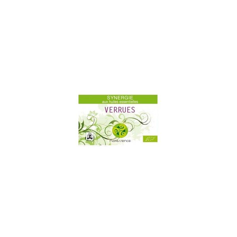 Floressence Synergies Synergie huiles essentielles élimine les verrues 100% pure, naturelle, et bio