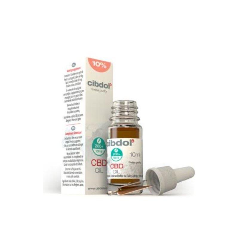 Cbd Cibdol Complément alimentaire huile de CBD 10% 10ml