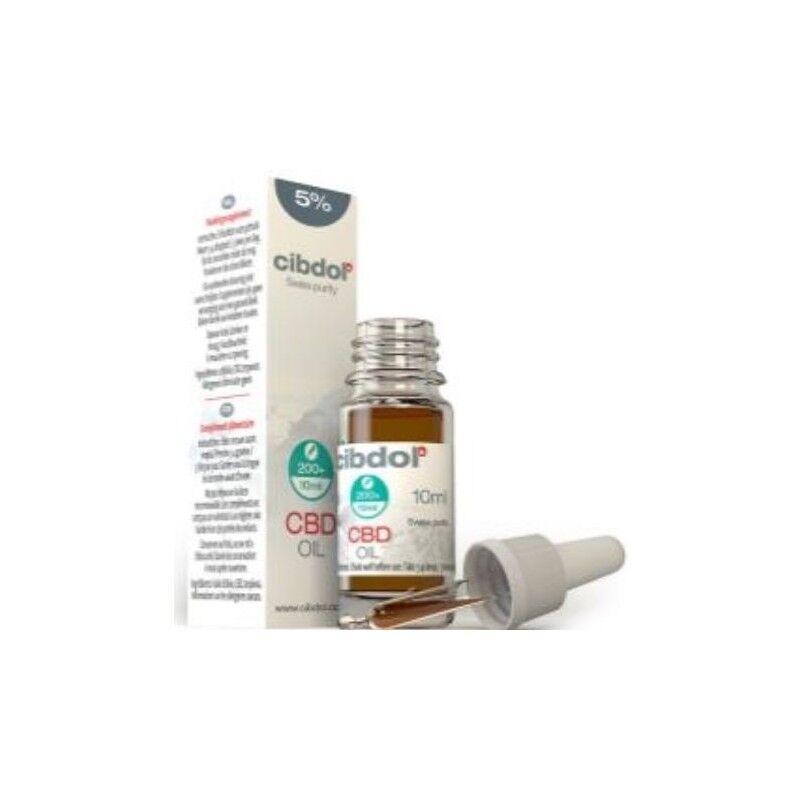 Cbd Cibdol Complément alimentaire huile de CBD de graines de chanvre 5% 10 ml