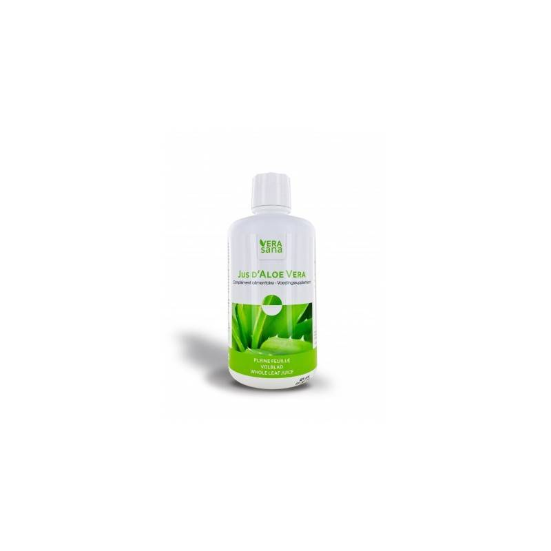 Aloe Vera jus 1/2 litre :Le + haut taux de polysaccharides
