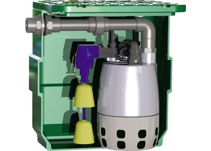 CALPEDA Mini pompe relevage 40L Evier Douche Calpeda