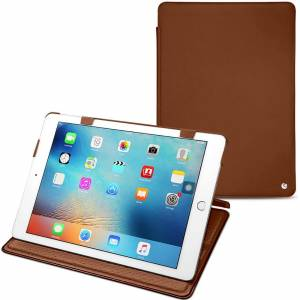 """Noreve Housse cuir Apple iPad 9.7"""" (2017) Perpétuelle Marron - Publicité"""