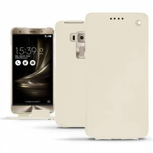 Noreve Housse cuir Asus Zenfone 3 Deluxe 5.7 ZS570KL Perpétuelle Blanc - Publicité