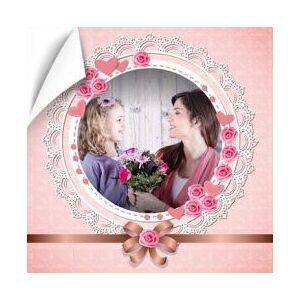 Poster rose coeur photo - Publicité