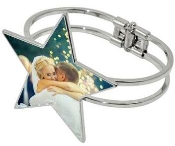 Bracelet jonc étoile photo