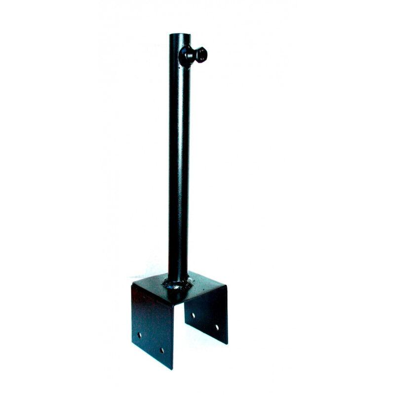 Svens Support de fixation 7x7 cm pour girouette en fer forgé