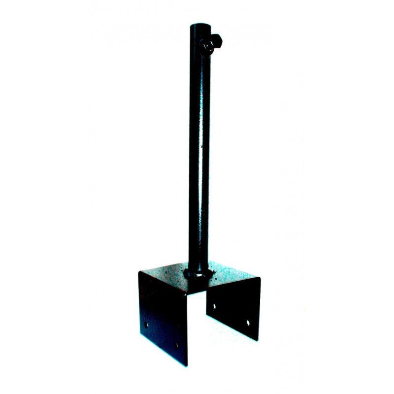 Svens Support de fixation 9x9 cm pour girouette en fer forgé