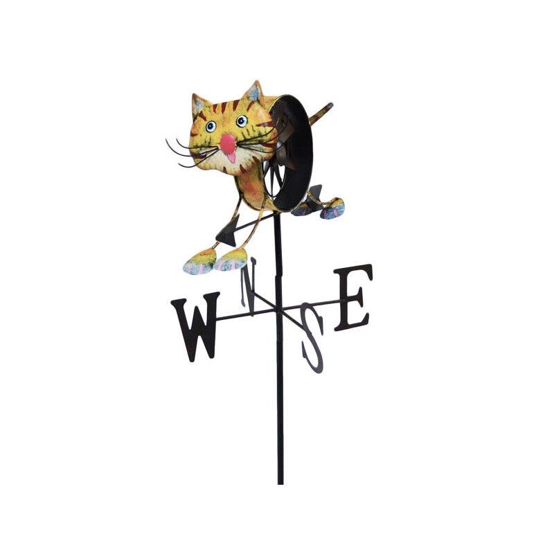 Koop Girouette moulin à vent Chat + mat