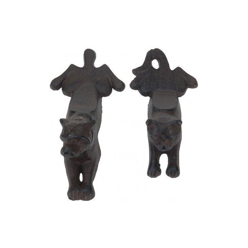 Koop Cale porte décoratif en fonte chat ou chien