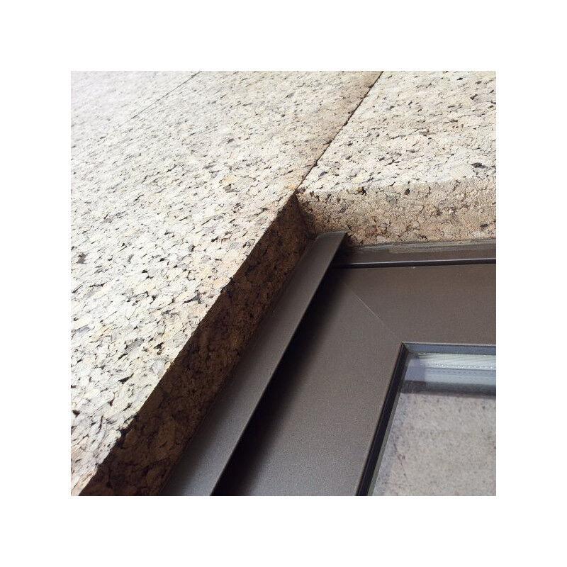 Corbeille ronde en bambou laqué turquoise