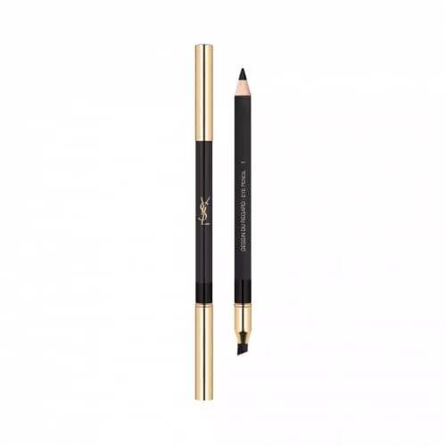 Yves Saint Laurent DESSIN DU REGARD Crayon Yeux Impact Couleur et Tenue avec Estompe 01 Noir Volage