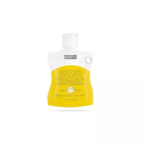 Pupa MASQUE EXFOLIANT ET REVITALISANT Masque gel avec extrait de citron