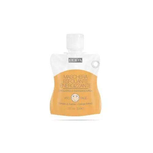 Pupa MASQUE EXFOLIANT ET ENERGISANT Masque gel avec extrait d'Orange