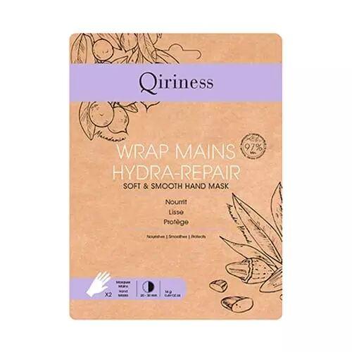 Qiriness WRAP MAINS HYDRA-REPAIR Masque Mains Douces & Lisses
